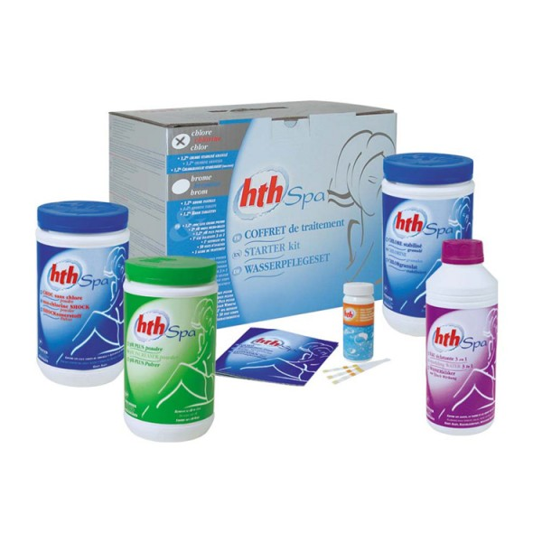 HTH SPA Chemie Starter Kit Chlor (5.6 kg + 2L)