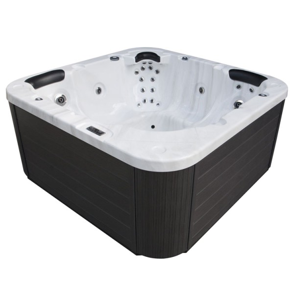 EO-SPA Whirlpool Aussenwhirlpool IN-103 Sterling Silver 215x215 grau