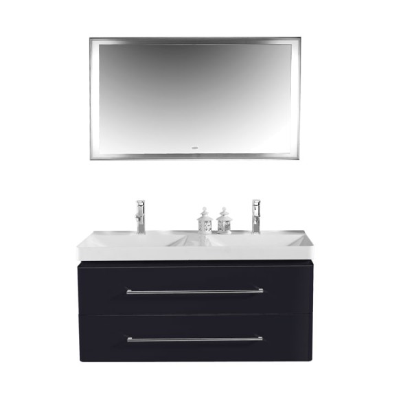 eago badm bel miami mx 1200 schwarz 120x48 im online shop. Black Bedroom Furniture Sets. Home Design Ideas