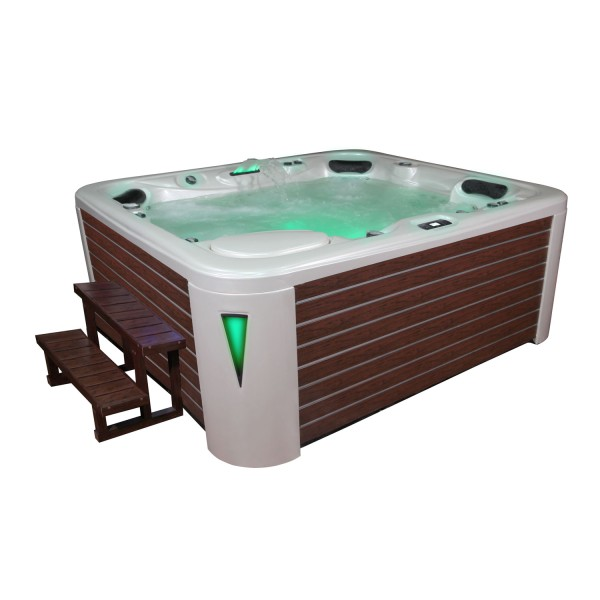 EO-SPA Aussenwhirlpool IN-590 premium extreme WhitePearlescent 250x228 braun