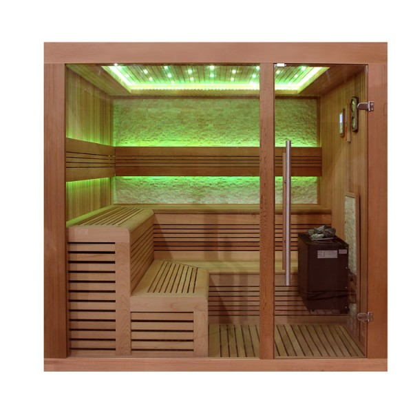eo spa sauna b1243a rote zeder 220x200 9kw eos bio thermat. Black Bedroom Furniture Sets. Home Design Ideas