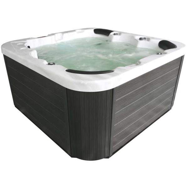 eo spa whirlpool aussenwhirlpool in 102 sterling silver 200x200 grau online kaufen. Black Bedroom Furniture Sets. Home Design Ideas