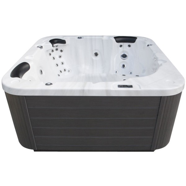 eo spa whirlpool aussenwhirlpool in 103 mit isolierung sterling silver 215x215 g online ordern. Black Bedroom Furniture Sets. Home Design Ideas