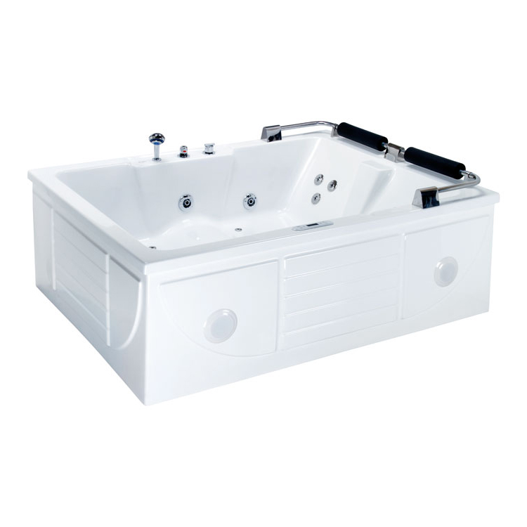 Badezimmer: EAGO Whirlpool AM119JDTSZ 180x130/links