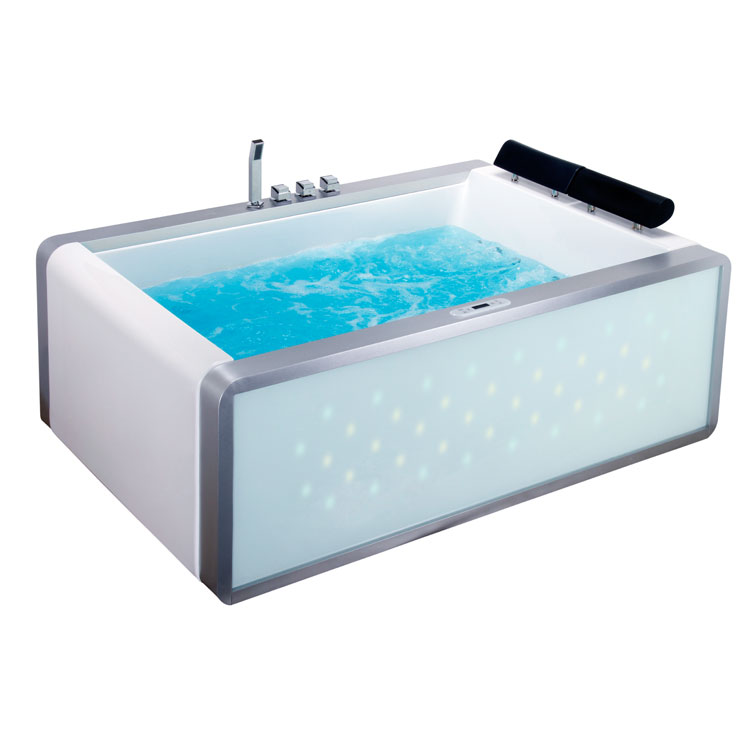 Badezimmer: EAGO Whirlpool AM151-1JDTSZ 180x120/links