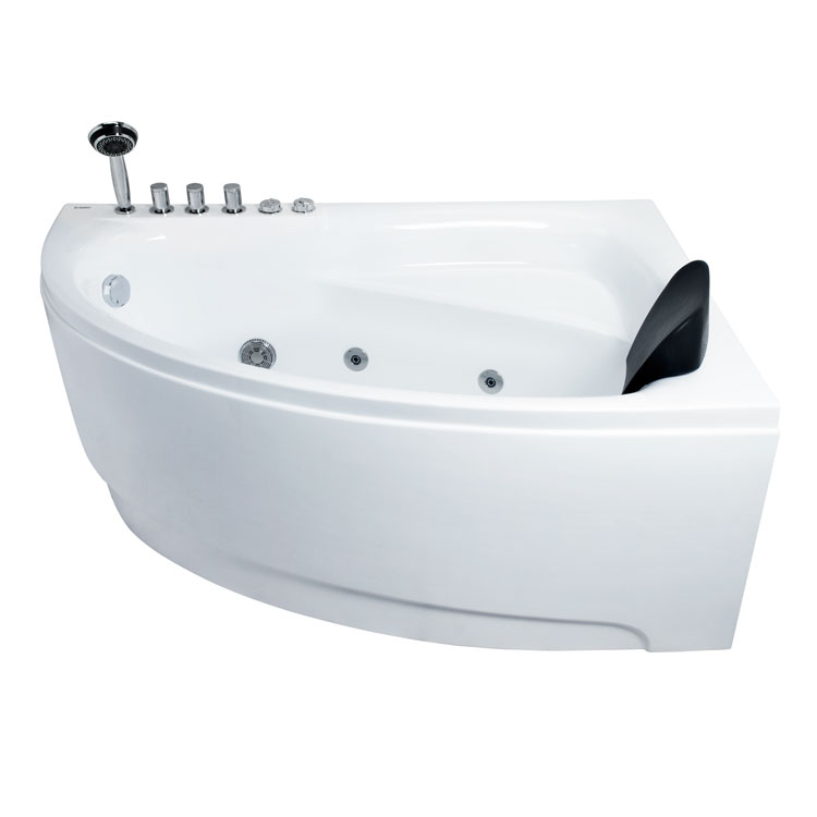 Badezimmer: EAGO Whirlpool AM161RD 150x100/links