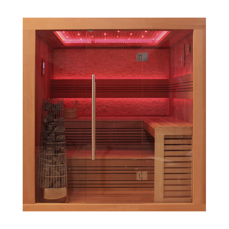 eo spa sauna e1241b rote zeder 200x170 9kw kivi online kaufen. Black Bedroom Furniture Sets. Home Design Ideas