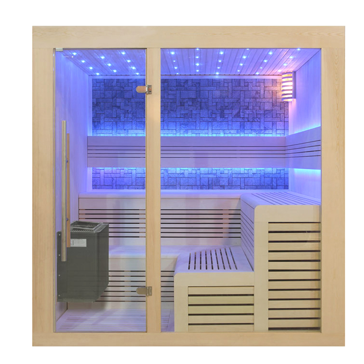 eo spa sauna b1213b pappelholz 200x200 9kw eos bio thermat. Black Bedroom Furniture Sets. Home Design Ideas
