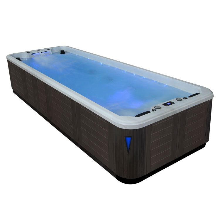eo spa swim spa in s06b extreme silvermarble 584x224 grau ebay. Black Bedroom Furniture Sets. Home Design Ideas