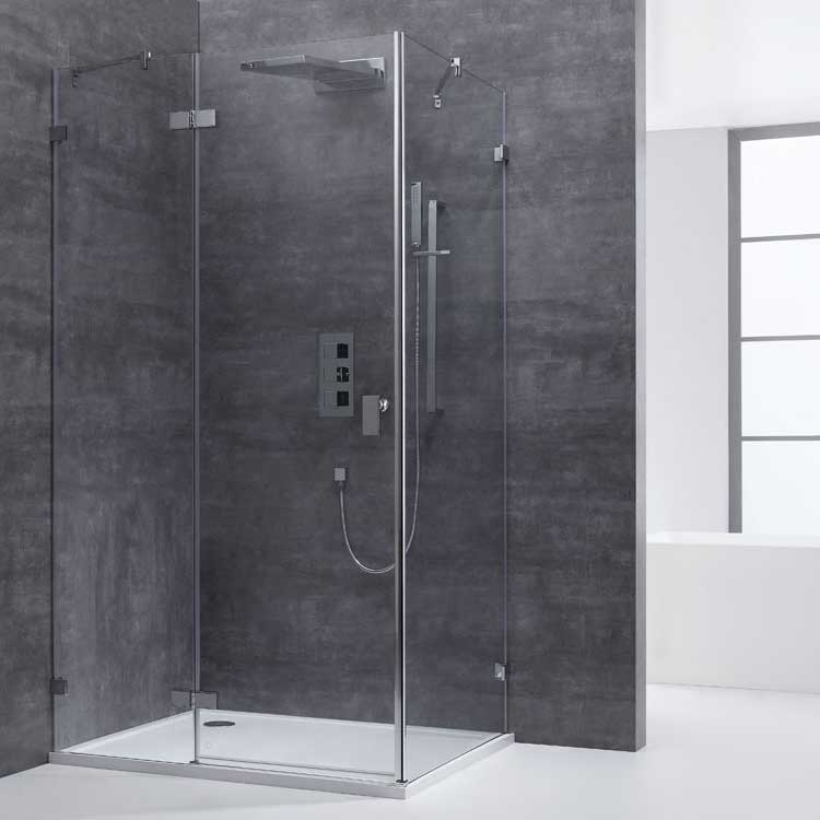AWT Dusche LAS1500 150x90/links