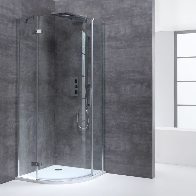 AWT Dusche LBR0906 90x90/links